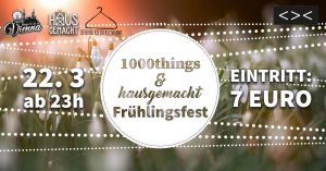 1000things Frühlingsfest